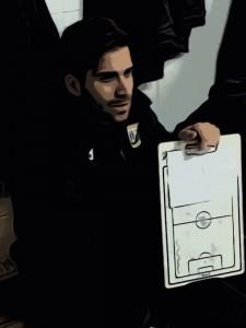 Raúl Huertas, entrenador de Infantil B