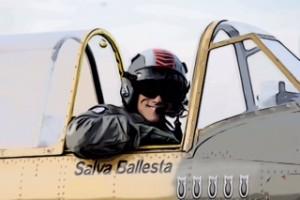 Salva Ballesta, piloto.