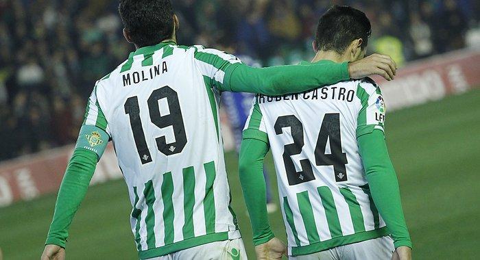 Rubén Castro y Jorge Molina