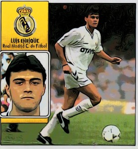 Luis Enrique Real Madrid