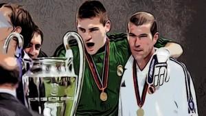 Iker Casillas y Zinedine Zidane