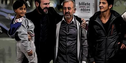 Miguel Ángel Galán y Osama Abdu