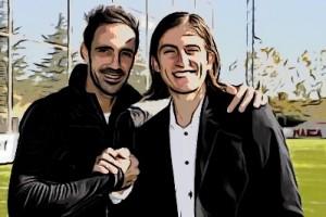 Juanfran y Filipe Luis
