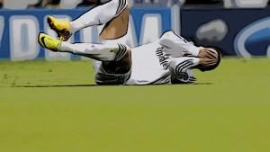 Cristiano Ronaldo suelo