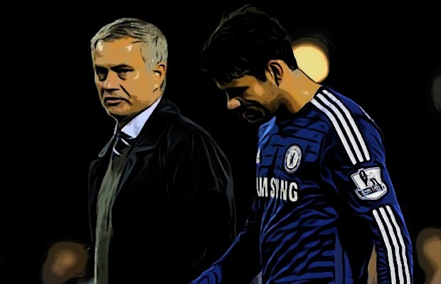 Mourinho y Diego Costa
