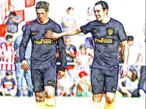 Torres-Godín pretemporada Atleti