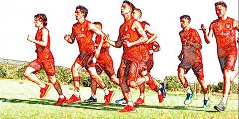 Atleti entrenamiento